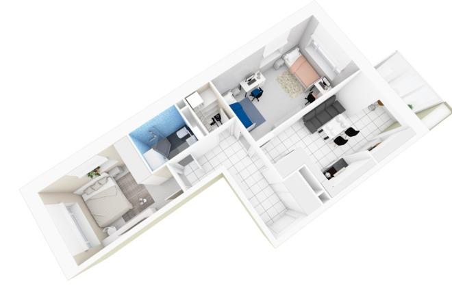 Планировка и перепланировка квартиры, дома, офиса 1 - kwork.ru