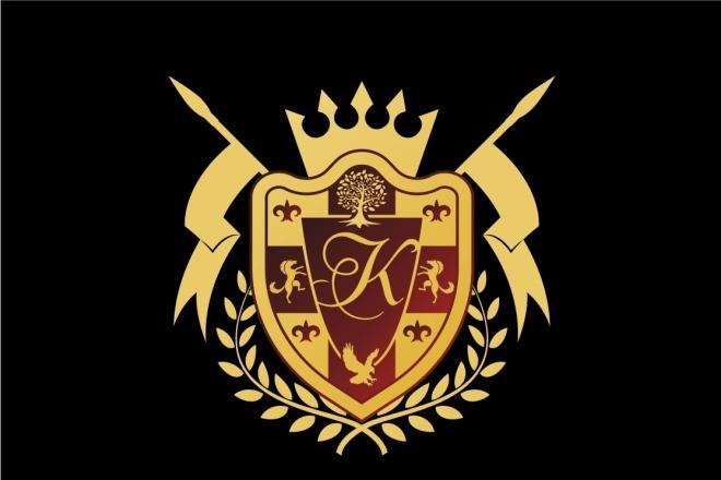 Сделаю 3 варианта логотипа в круглой форме 32 - kwork.ru