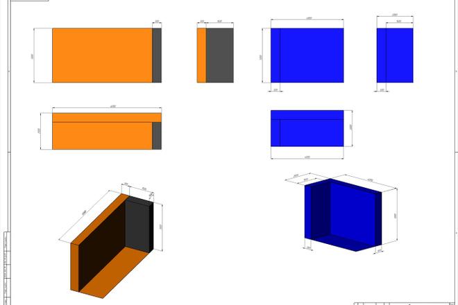 Создам 3D модель в SolidWorks. Для ЧПУ фрезера лазера или 3D Принтера 12 - kwork.ru