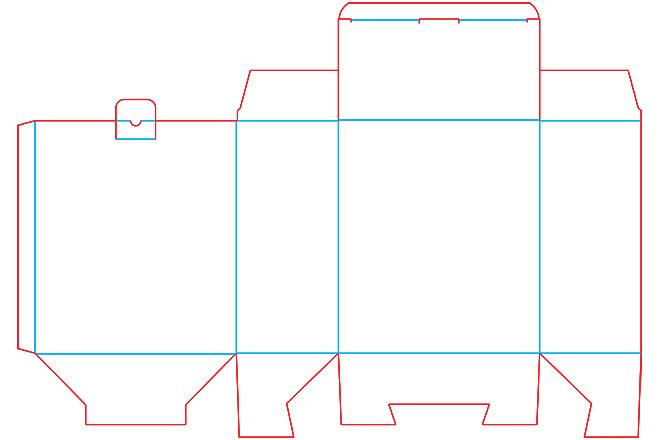 Разработка кроя упаковки из картона или микрогофрокартона 17 - kwork.ru