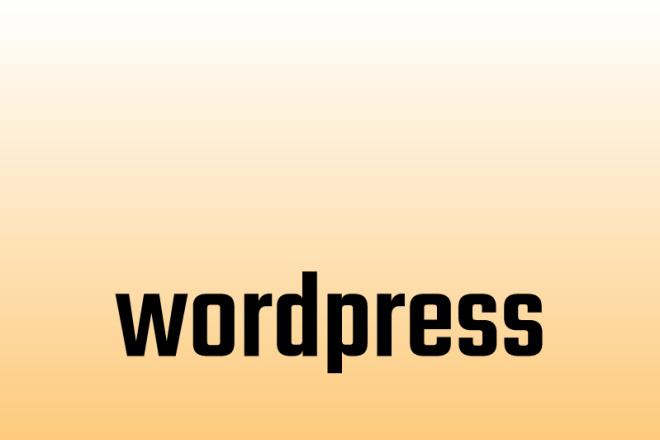 Wordpress - шаблоны,плагины 1 - kwork.ru