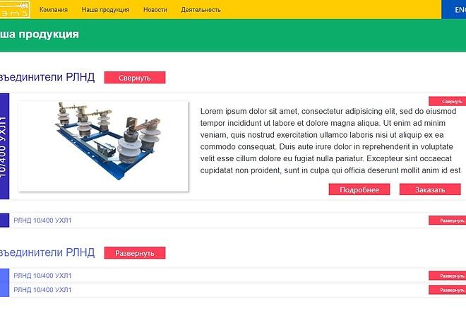 Верстка страницы сайта или лендинга из вашего PSD 15 - kwork.ru