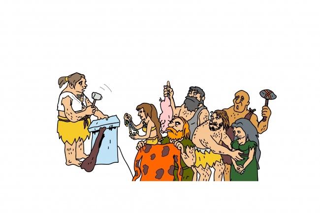Карикатура 63 - kwork.ru
