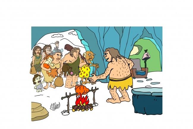 Карикатура 59 - kwork.ru