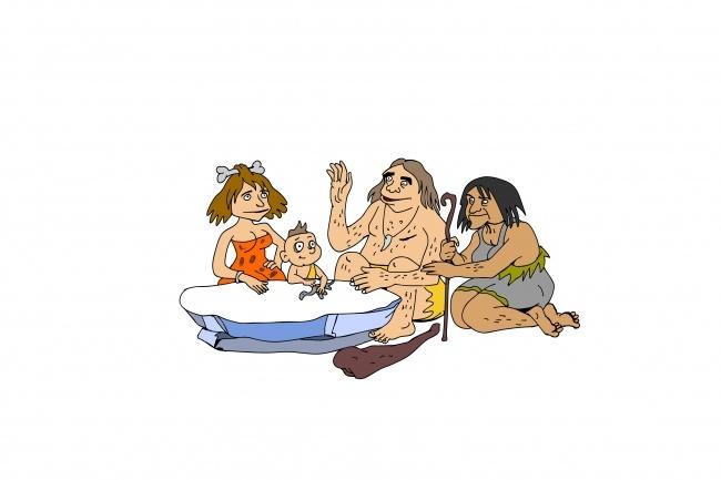 Карикатура 68 - kwork.ru