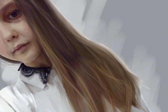 Рисую цифровые портреты по фото 23 - kwork.ru