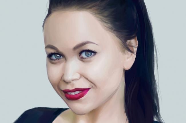 Рисую цифровые портреты по фото 19 - kwork.ru