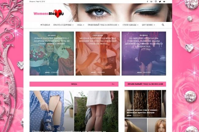 Создам автонаполняемый сайт на WordPress, Pro-шаблон в подарок 20 - kwork.ru