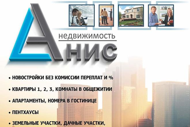 Создам макет рекламного баннера 29 - kwork.ru