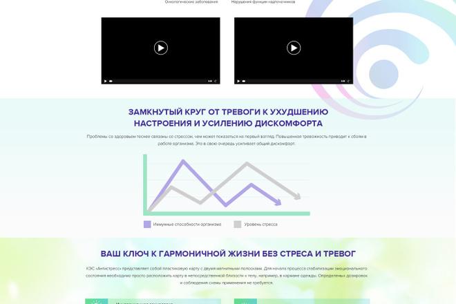 Дизайн страницы Landing Page - Профессионально 49 - kwork.ru