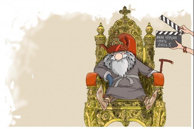 Создам иллюстрацию на медицинскую тематику в стиле карикатуры 9 - kwork.ru