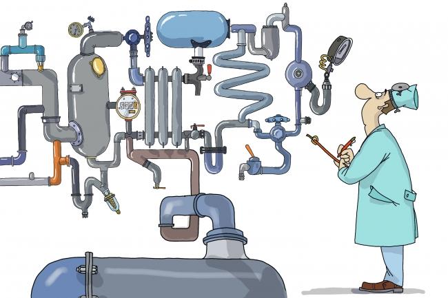 Создам иллюстрацию на медицинскую тематику в стиле карикатуры 30 - kwork.ru