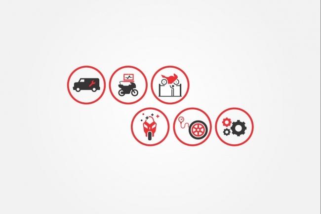 Создам 4 иконки в любом стиле, для лендинга, сайта или приложения 77 - kwork.ru