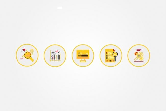 Создам 4 иконки в любом стиле, для лендинга, сайта или приложения 69 - kwork.ru