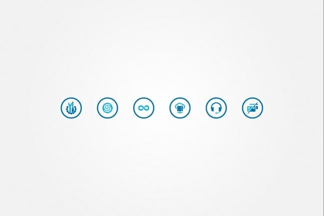 Создам 4 иконки в любом стиле, для лендинга, сайта или приложения 64 - kwork.ru