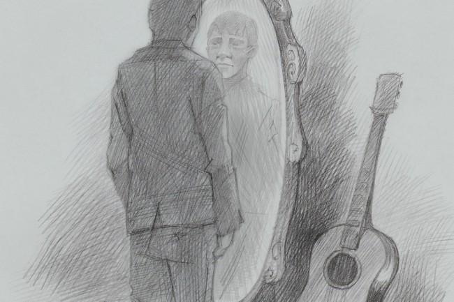 Карандашный рисунок 9 - kwork.ru