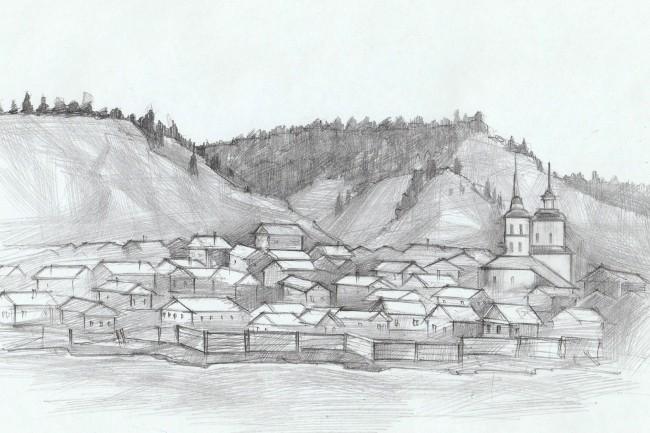 Карандашный рисунок 7 - kwork.ru