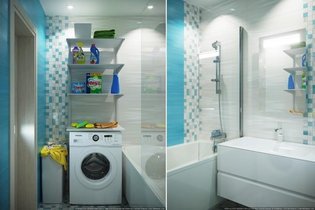 Дизайн ванной комнаты 1 - kwork.ru