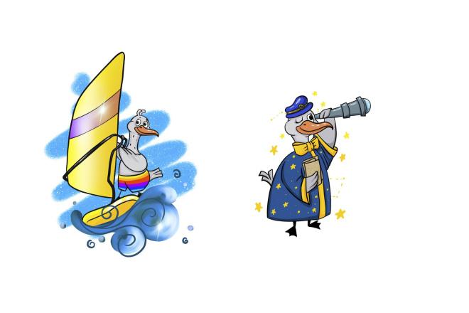 Разработаю для вас персонажа. Для книги, игры, рекламы, блога 13 - kwork.ru