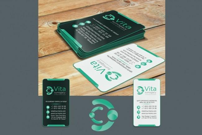 Сделаю дизайн визитки 60 - kwork.ru