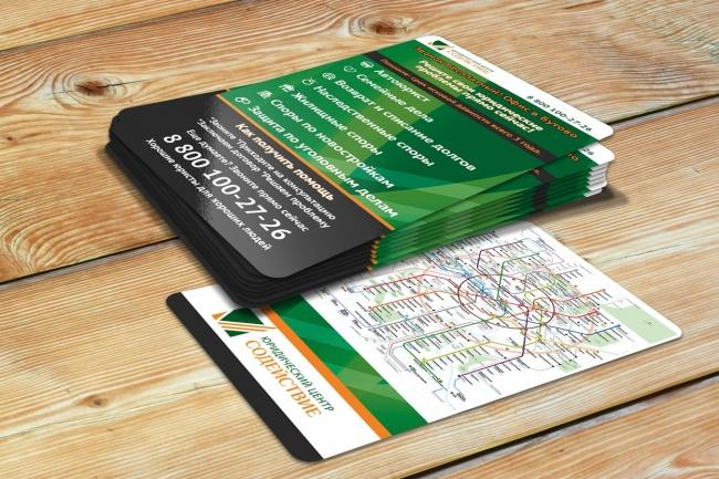 Сделаю дизайн визитки 80 - kwork.ru