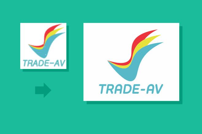 Качественный лого по вашему рисунку. Ваш логотип в векторе 53 - kwork.ru