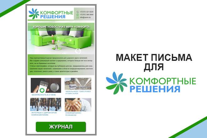 Создам html письмо для e-mail рассылки 16 - kwork.ru