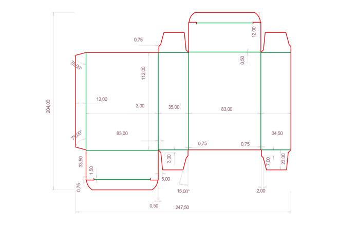 Разработка кроя упаковки из картона или микрогофрокартона 20 - kwork.ru