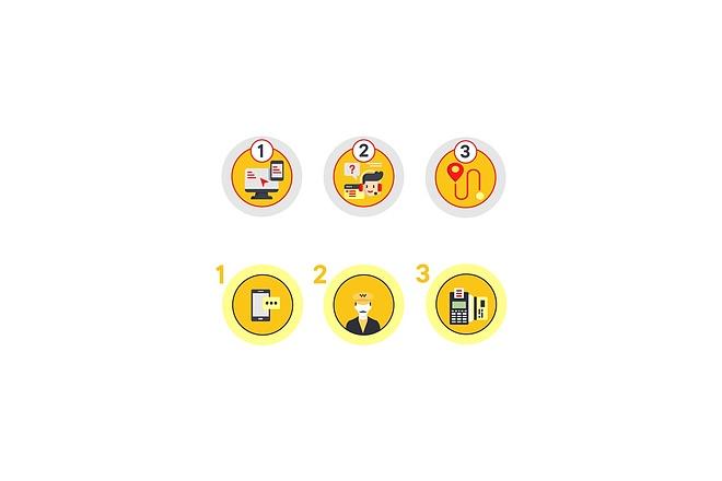 Создам 4 иконки в любом стиле, для лендинга, сайта или приложения 21 - kwork.ru