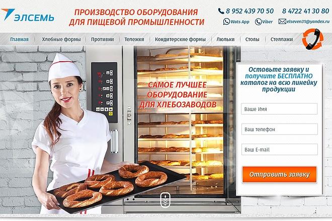 Уникальный и качественный дизайн сайта в PSD формате 4 - kwork.ru