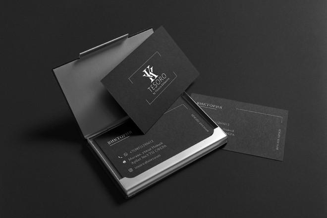 Дизайн, верстка, макет визитки 19 - kwork.ru