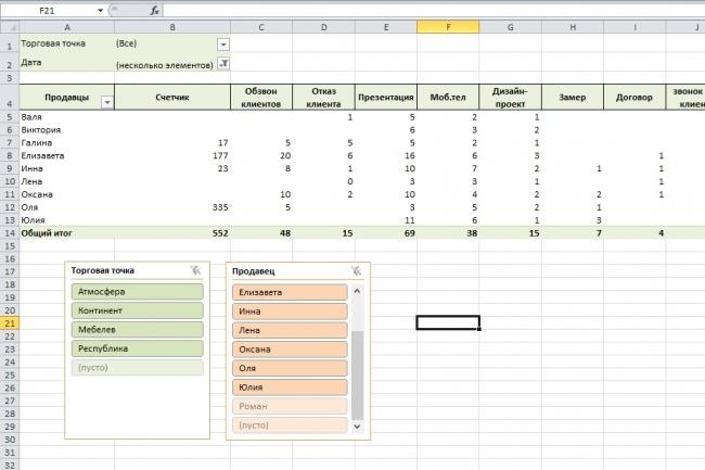 Напишу макрос для Excel 64 - kwork.ru