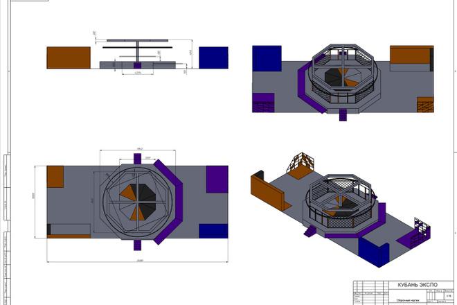 Создам 3D модель в SolidWorks. Для ЧПУ фрезера лазера или 3D Принтера 11 - kwork.ru