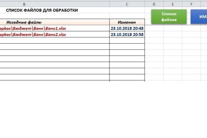 Профессионально таблицы Excel и макросы VBA 25 - kwork.ru