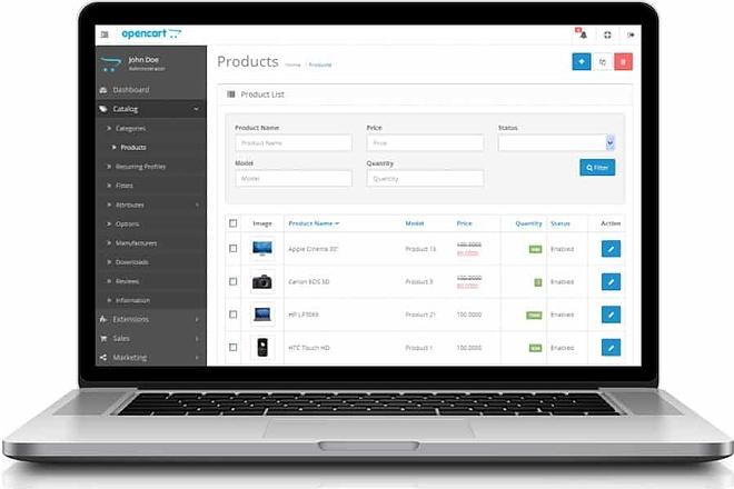 Создам интернет-магазин на CMS OpenCart, OcStore 54 - kwork.ru