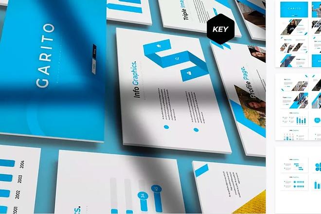70 премиальных шаблонов презентаций для Keynote 2 - kwork.ru