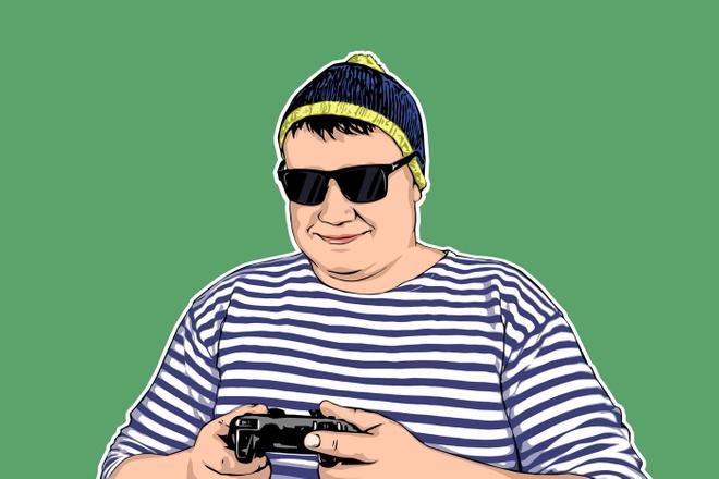 Качественный поп-арт портрет по вашей фотографии 9 - kwork.ru