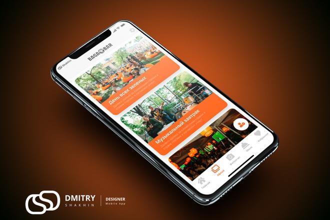 UX-UI Дизайн мобильного приложения для iOS - Android 21 - kwork.ru