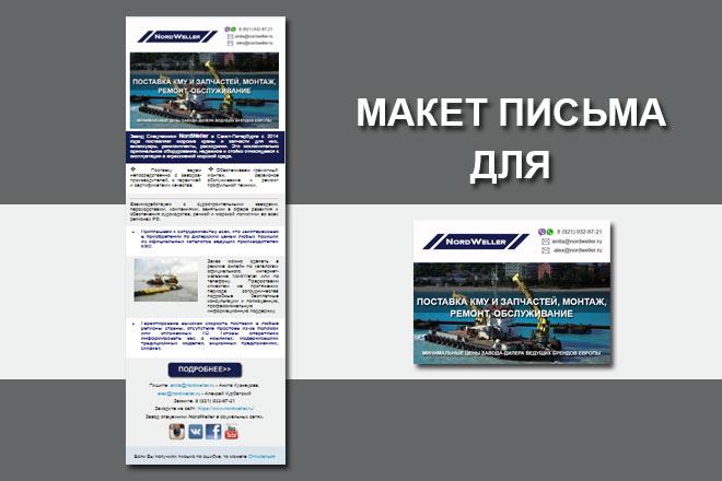Создам html письмо для e-mail рассылки 22 - kwork.ru