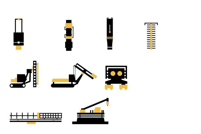 Нарисую векторные иконки для сайта, соц. сетей, приложения 8 - kwork.ru