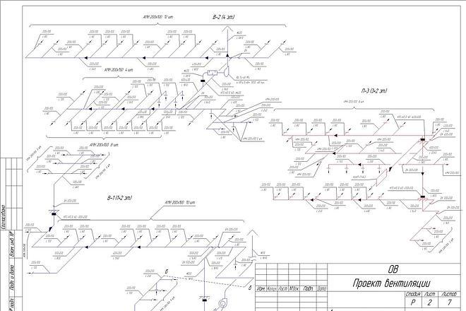 Проектирование вентиляции 16 - kwork.ru