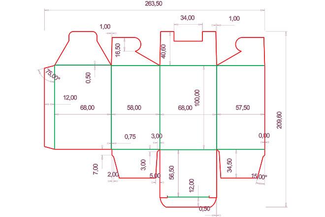 Разработка кроя упаковки из картона или микрогофрокартона 5 - kwork.ru