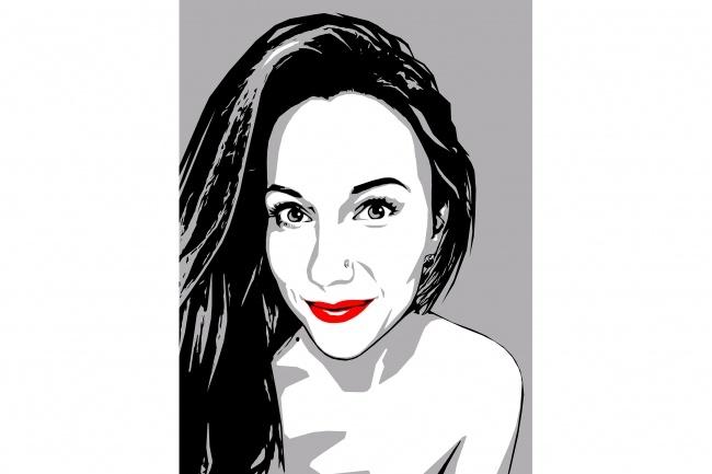 Качественный поп-арт портрет по вашей фотографии 27 - kwork.ru