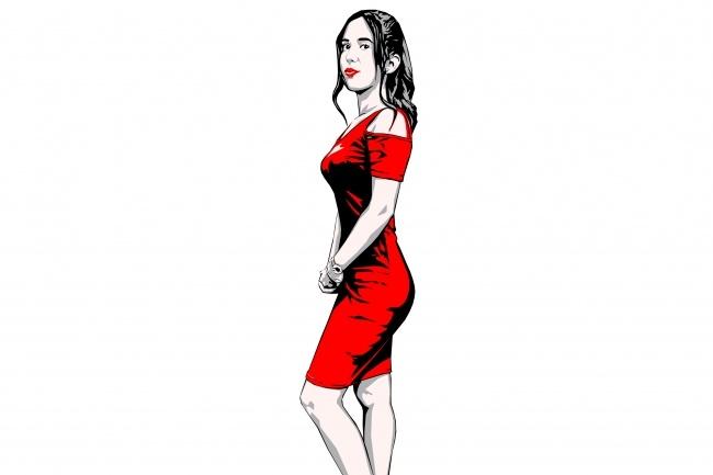 Качественный поп-арт портрет по вашей фотографии 26 - kwork.ru