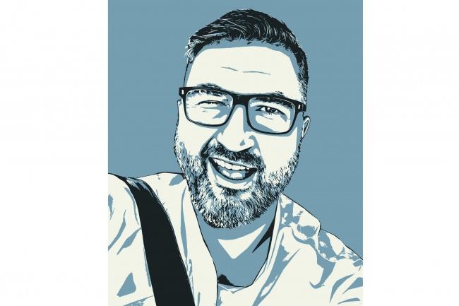 Качественный поп-арт портрет по вашей фотографии 37 - kwork.ru