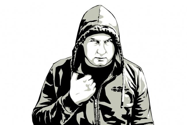 Качественный поп-арт портрет по вашей фотографии 36 - kwork.ru