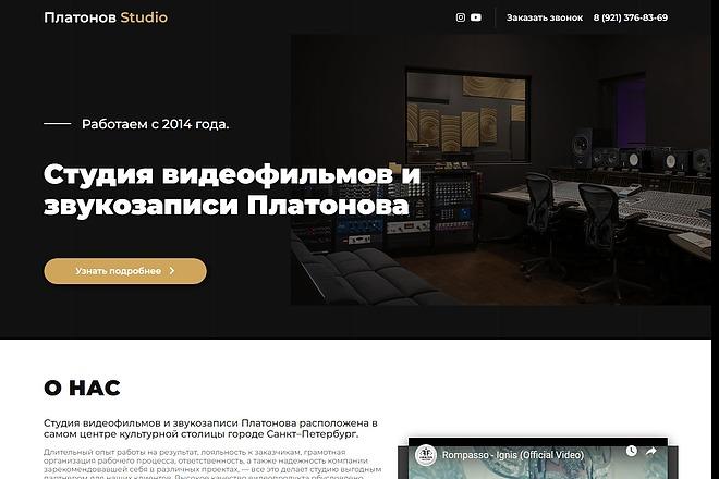 Сайт под ключ. Landing Page. Backend 15 - kwork.ru