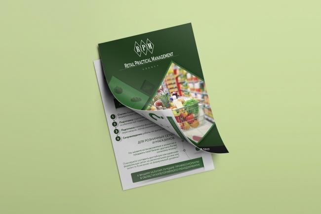 Разработаю дизайн рекламной листовки или флаера 31 - kwork.ru