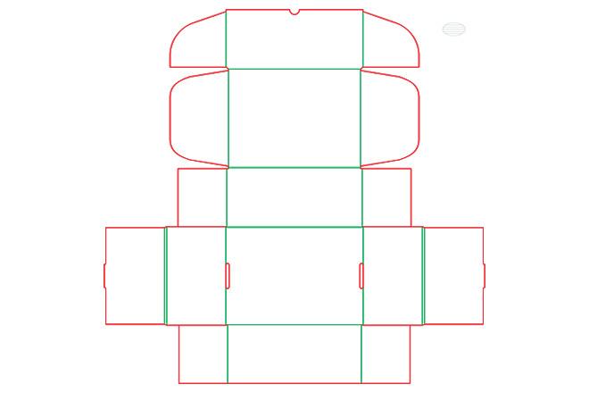 Разработка кроя упаковки из картона или микрогофрокартона 15 - kwork.ru