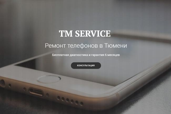 Продающий сайт - Лендинг под ключ, для любых целей 75 - kwork.ru